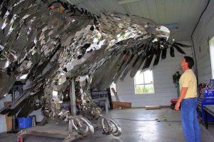 vultur cu piese la waterjet