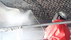 demolarea cu jet de apă sub presiune