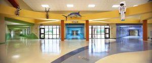 hol decoratii scoala